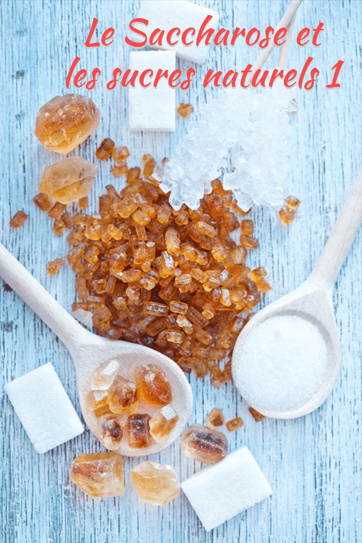 Le Saccharose et les sucres naturels