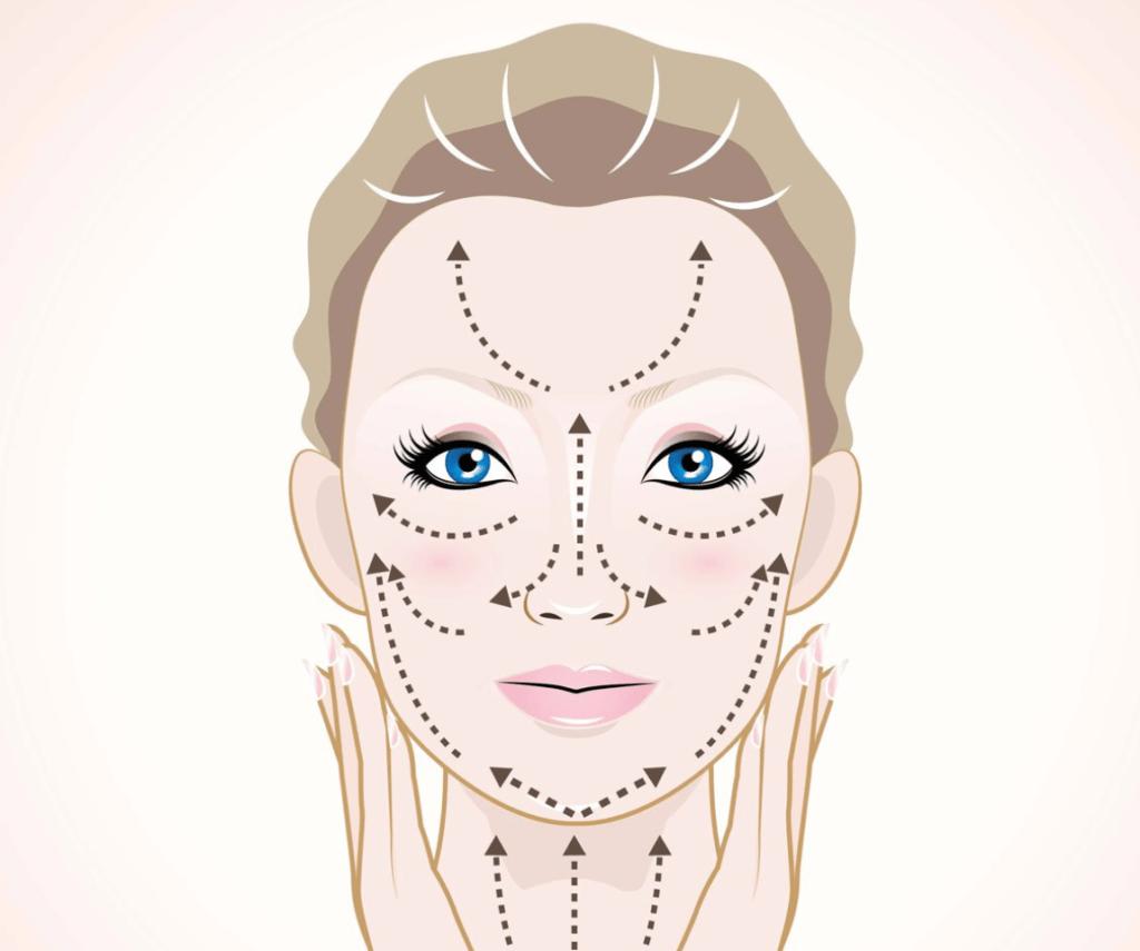 Les ventouses de massage pour visage
