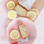 Cake au citron pavot
