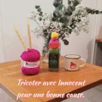Tricoter avec Innocent pour une bonne cause.