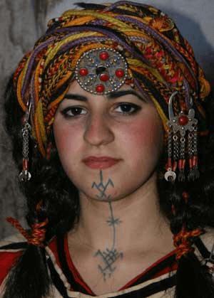 tatouage amazigh