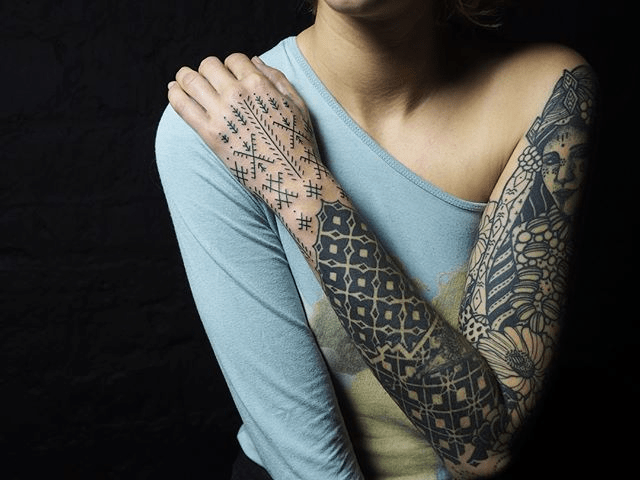 les tatouages amazigh