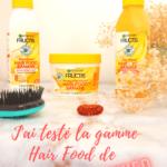 J'ai testé la gamme Hair Food de Garnier